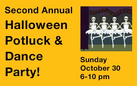Halloween Potluck & Dance Party