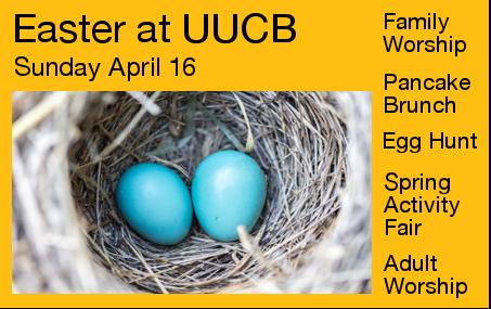 Easter at UUCB