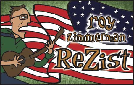 Roy Zimmerman Concert Aug. 26