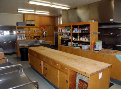 UUCB professional kitchen